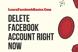How to Delete My Facebook Account Right Now - Permanently