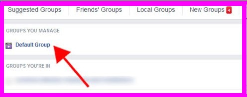 how to delete facebook group i created
