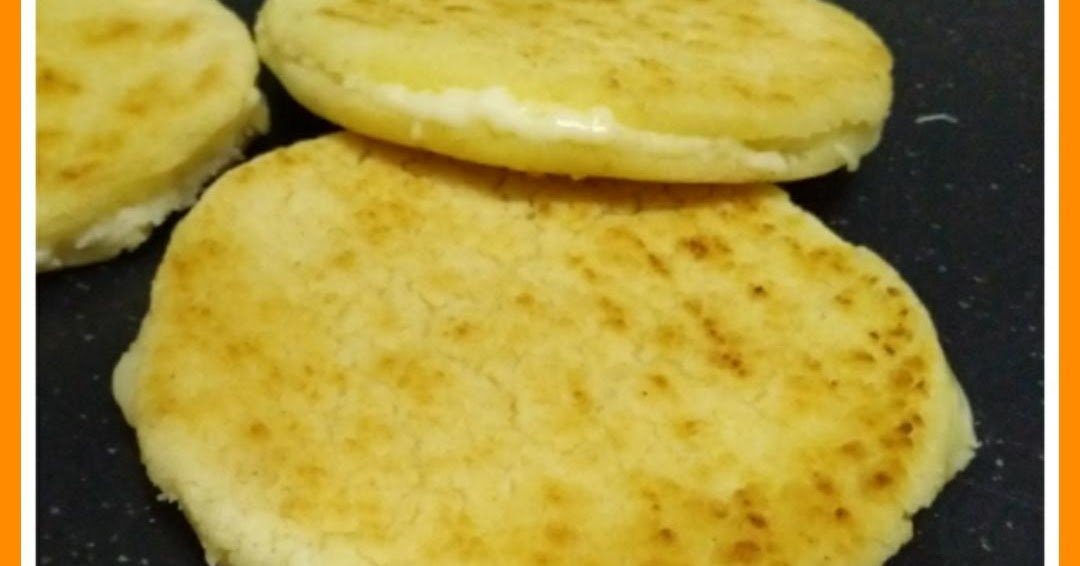 Arepas De Maiz Blanco Rellenas De Queso Facil Y Rico Ampis Recetas