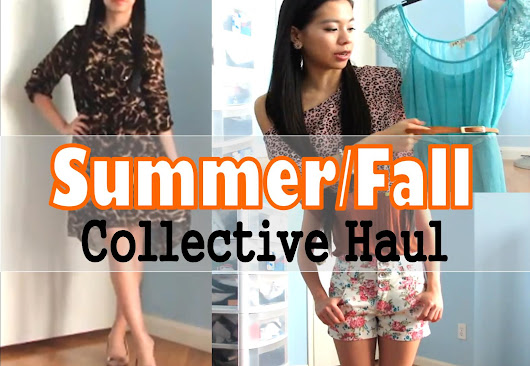 Summer/Fall Collective Haul Video is uploaded!!!