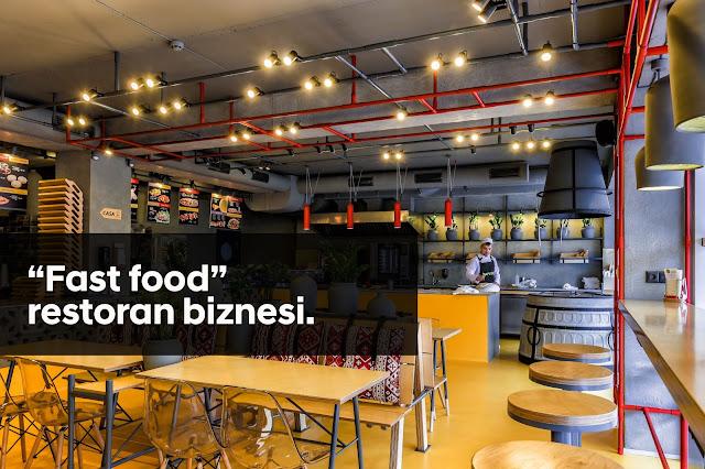 """Fast food"" restoran biznesi - Cavid Abasov"