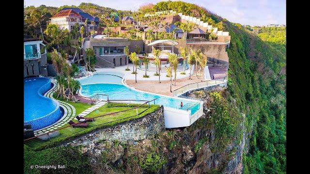 villa pemandangan tebing