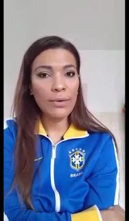 Brasileira que mora na Itália fala sobre o coronaviros