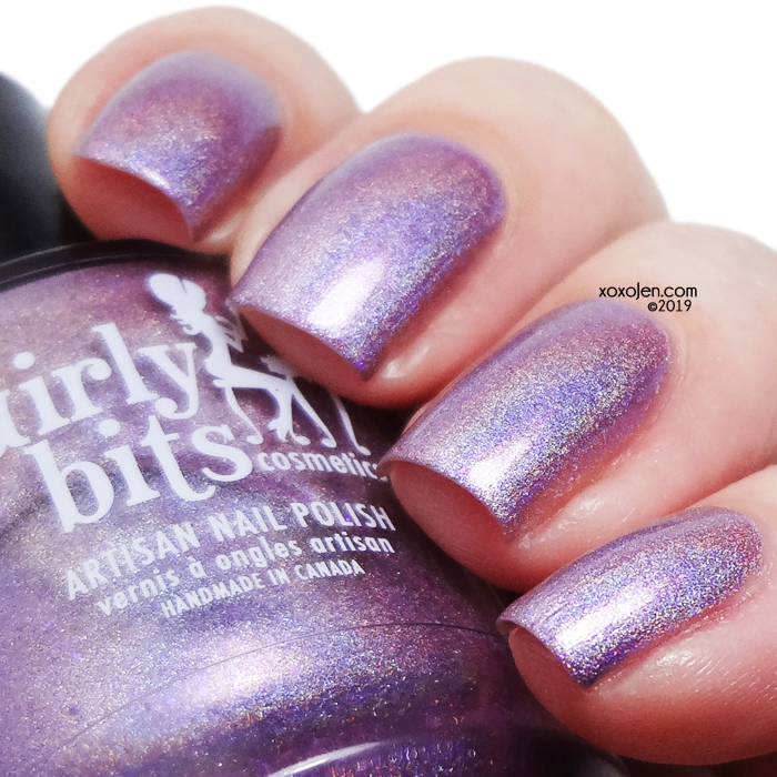 xoxoJen's swatch of Girly Bits Budding Romance