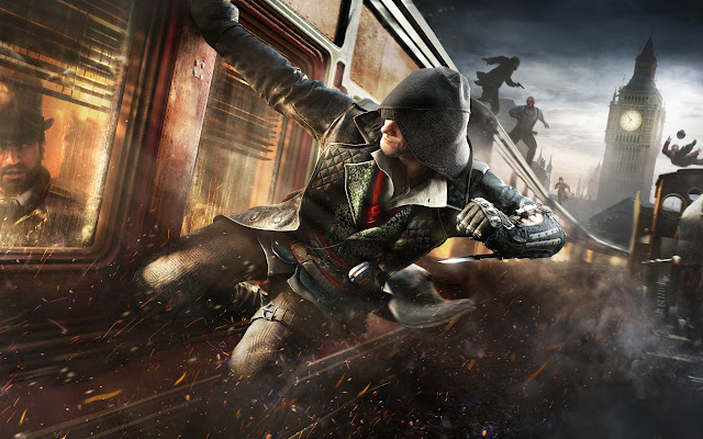 Hình nền đen - game  Assassin's