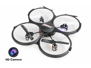 Headless RC Quadcopter w/ HD Camera, Extra Battery and Return Home Function