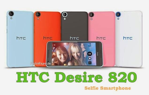 HTC Desire 820: 5.5-inch, 1.5GHz 64-bit Octa-core Android KitKat Smartphone Specs, Price