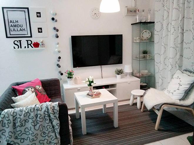 Tak Perlu Banyak Perabot Dalam Rumah Contohnya Kos Rendah Ni Kesemuanya Menggunakan Dan Barangan Ikea Yang Simple