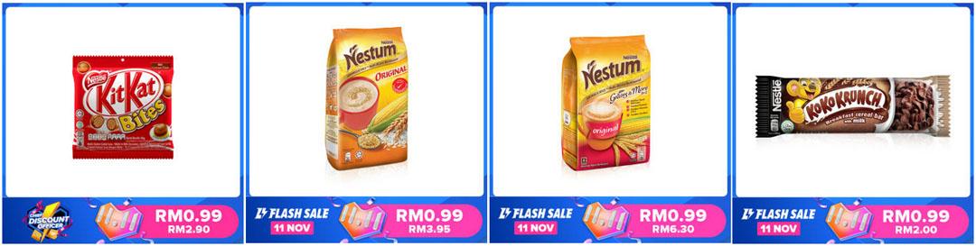 Promosi 11.11 Nestle Lazada