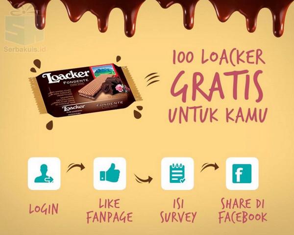 100 Loacker Gratis Untuk Kamu
