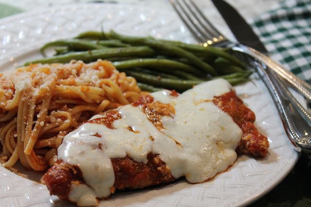 Chicken Parmesan for Dinner