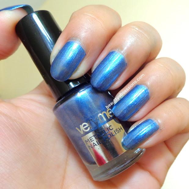 oriflame veryme metallic nail polishes