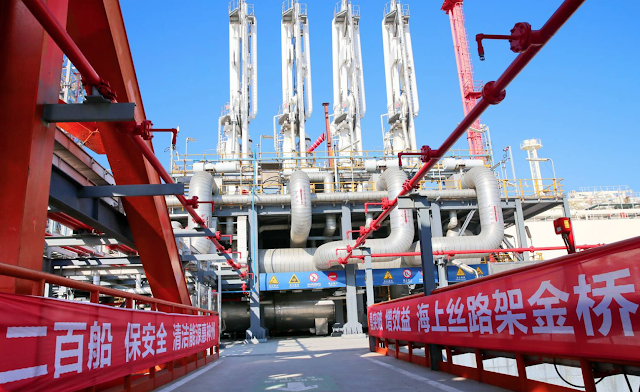 U.S.-Iran Sanctions Give China Lead in World's Biggest Gas Field