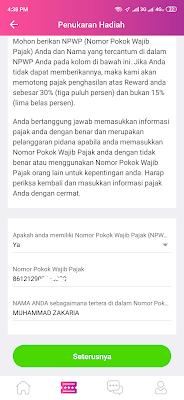 Cara Menukarkan Hadiah dari Aplikasi Jag Android