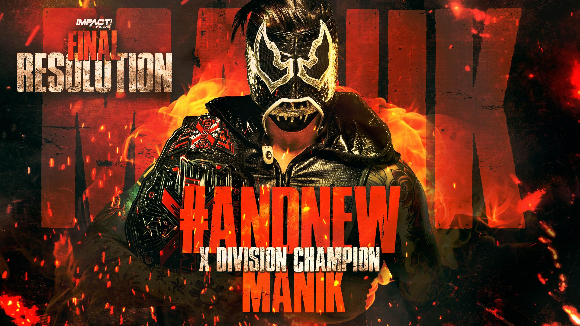 Manik conquista o IMPACT X-Division Championship