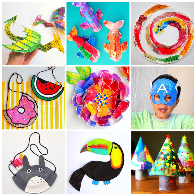 30+ Super Fun and Unique Paper plate Crafts for Kids
