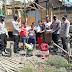 Kapolsek Batui Kembali Serahkan Bantuan Kepada Korban Kebakaran Rumah