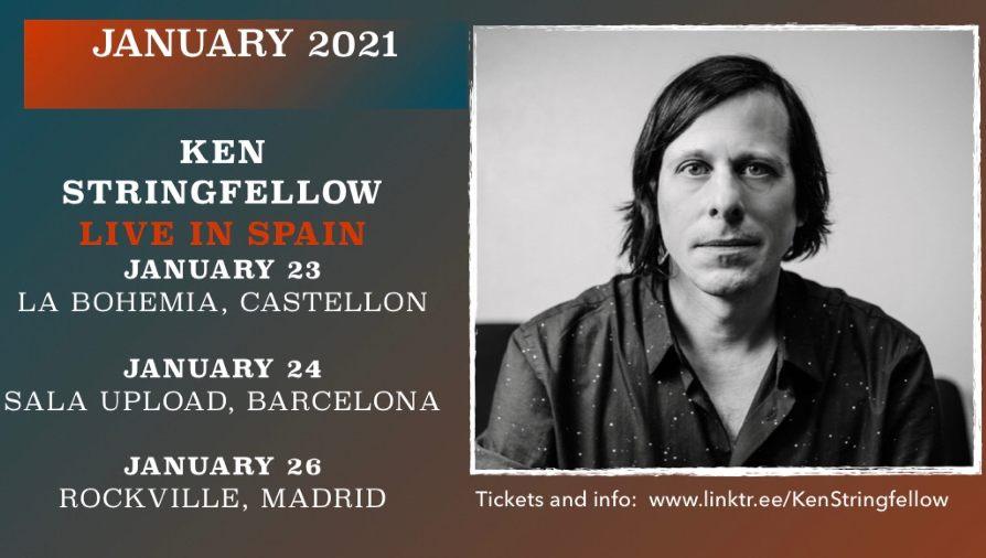 Noticia: Ken Stringfellow - Minigira por España en enero de 2021