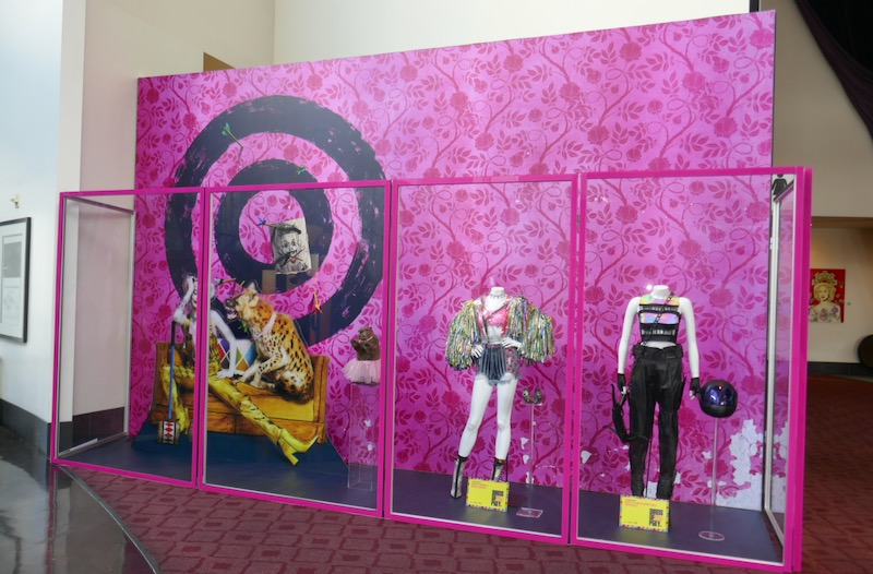Birds of Prey film costume prop exhibit