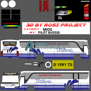 Livery bus mios old setra