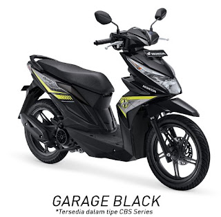 Honda BeAT eSP CBS (Garage Black)