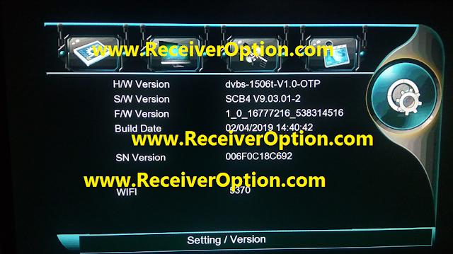 FIRST V-999 GOLD HD RECEIVER POWERVU KEY NEW SOFTWARE