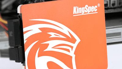 Unboxing SSD 128gb Kingspec - Aliexpress