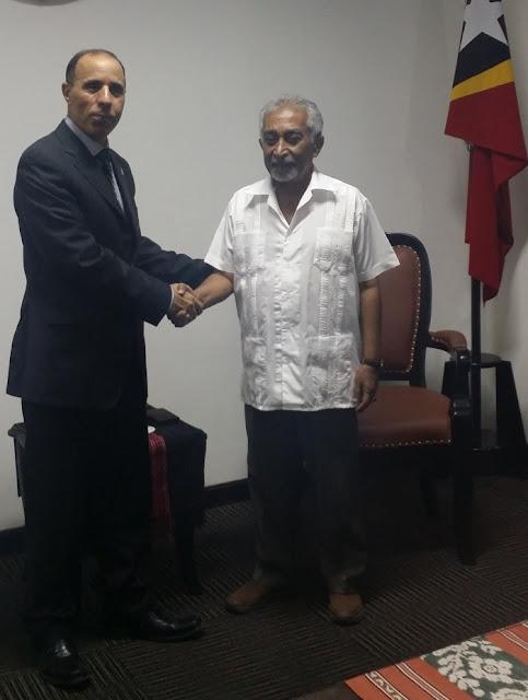 الوزير الأول في حكومة جمهورية تيمور الشرقية يؤكد دعم بلاده لحق الشعب الصحراوي في الحرية والاستقلال