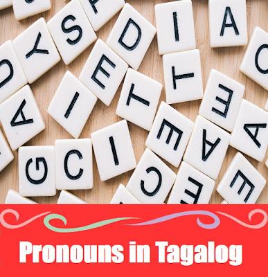 Pronoun Word List in Tagalog