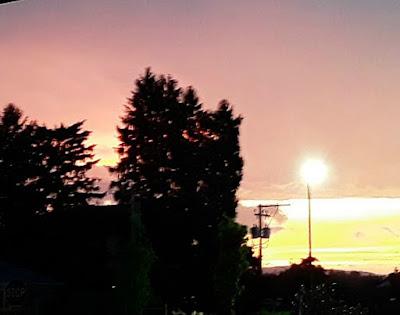 Beautiful Summer Sunsets in Pennsylvania
