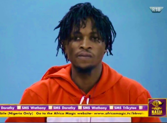 VIDEO: #BBNaija Laycon Shares How He Caught His Girlfriend Having S3x With Another Guy