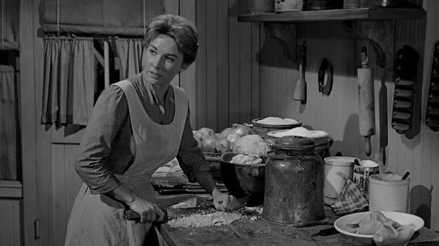 Vera Miles as Hallie Stoddard