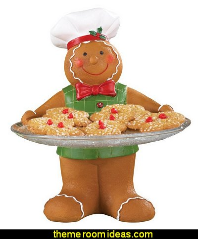 Holiday Gingerbread Baker Serving Tray