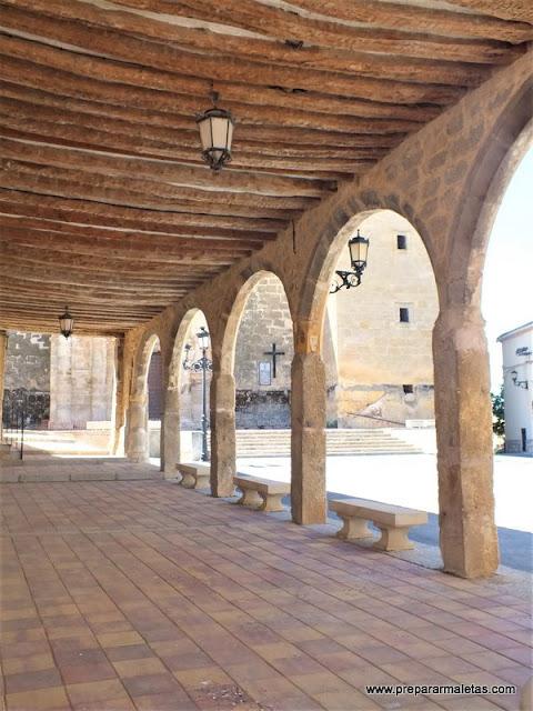 que ver en Buendía Cuenca, la Plaza Mayor