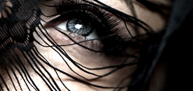 صورة فنية لعين فتاة أو بنت