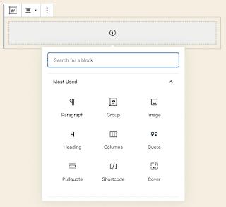 Agregar bloque de grupo en WordPress 5.3