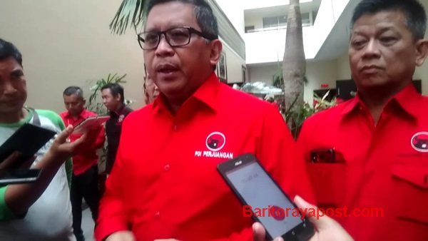Hasto Kristiyanto Berikan Arahan Kepada Legiaslator PDIP Se Kalteng
