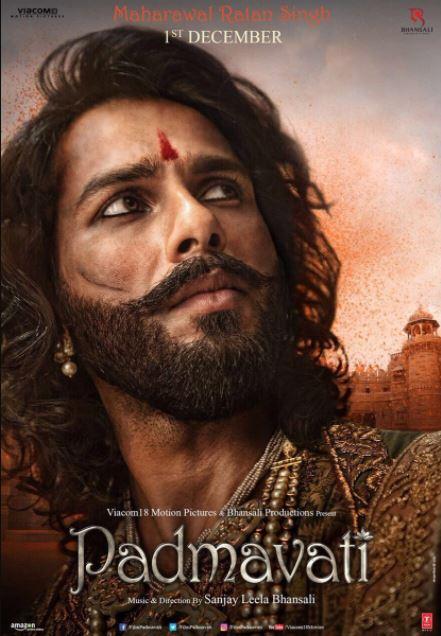Padmavati-Movie-1st-Look-Posters-Maharawal-Ratan-Singh-Shahid-Kapoor-Image-2