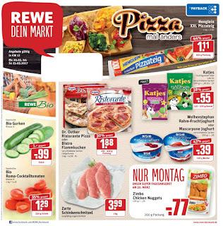 Rewe Prospekt - Woche 12 - Angebote ab 20. bis 25. März 2017