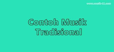 contoh musik tradisional di indonesia