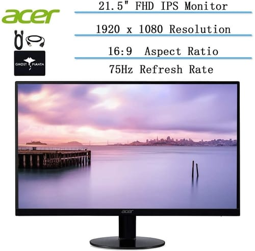 Review 2020 Acer 21.5-inch Full HD Ultra-Thin Monitor