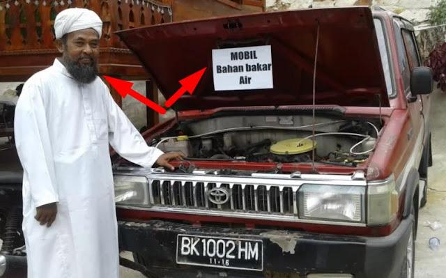 Pria Penemu Mobil Berbahan Bakar Air ini, Patahkan Klaim Jenggot Panjang Bikin Goblok