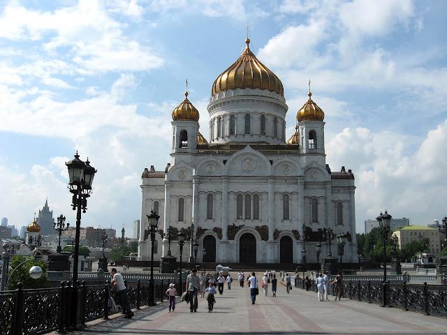 От Храма Христа Спасителя до Кремля