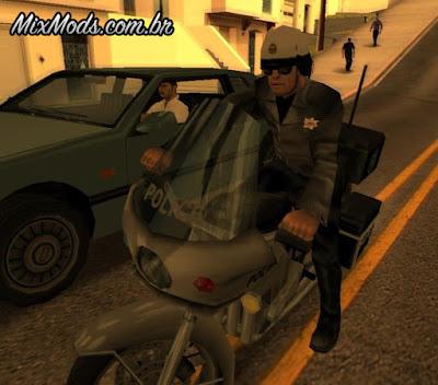 novas skins policiais gta