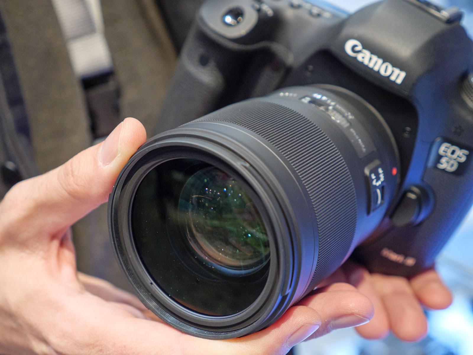 Tokina Opera 50mm f/1.4 с камерой Canon EOS 5D Mark IV