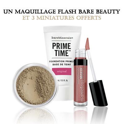 Échantillons Maquillages Gratuits de BareMinerals chez Sephora
