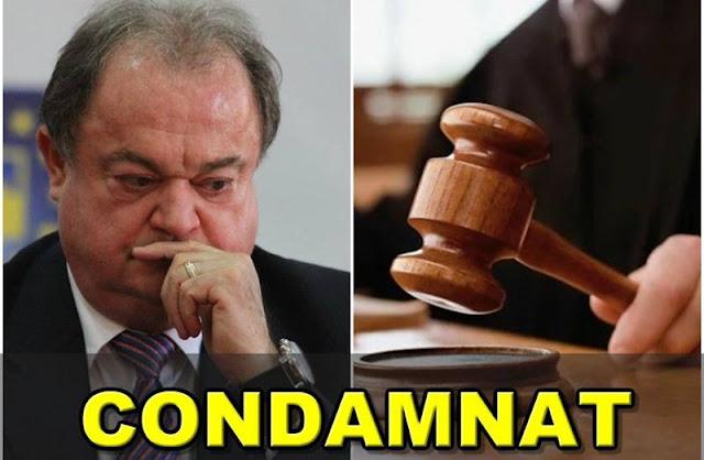S-A TERMINAT! VASILE BLAGA, CONDAMNAT CU EXECUTARE! Decizia BOMBĂ a procurorilor