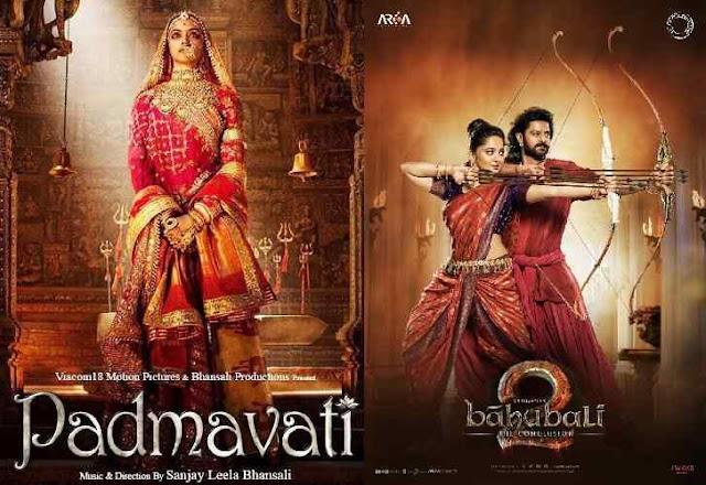 Bahubali vs Padmavat Collections