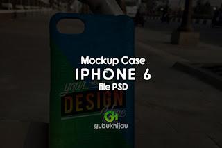 Mockup Case iphone 6