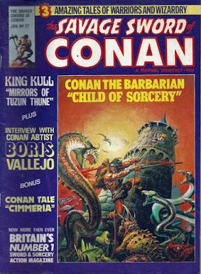 Savage Sword of Conan #27